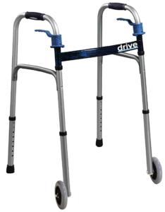 Best Walkers for Older Adults - Drive Medical Trigger Release Folding Walker