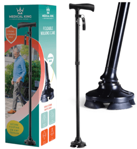 Best Walking Canes for Aging Adults - Medical King Walking Cane for Men and Women