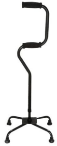 HealthSmart Sit-to-Stand Quad Cane