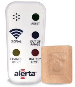 Alerta Patch & Wedge Wearable Proximity Monitor