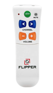 Flipper Big Button Remote for Two Devices