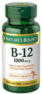 Nature's Bounty B-12 Microlozenges
