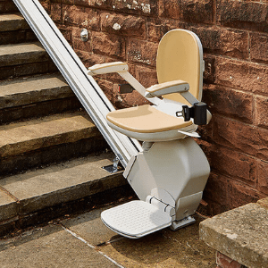 Best Stairlifts - Acorn 130 Outdoor Straight Stair Lift