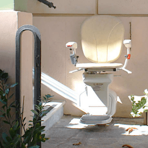 Best Stairlifts - AmeriGlide Outdoor Plus Stair Lift