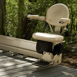 Best Stairlifts - Bruno Elite Curved Outdoor Stair Lift