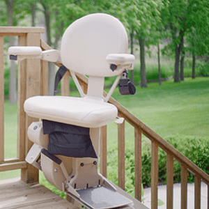 Best Stairlifts - Bruno Elite Outdoor Straight Stair Lift