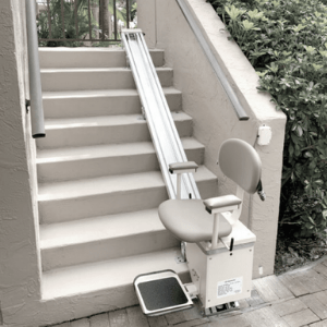 Best Stairlifts - Harmar Outdoor Straight Stair Lift SL350OD