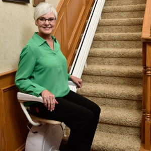 Best Stairlifts - Savaria K2 Straight Stair Lift