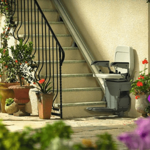 Best Stairlifts - Stannah Outdoor 320 Straight Stair Lift
