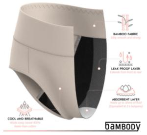 Bambody Absorbent Underwear